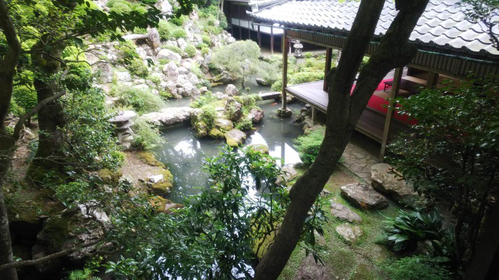書院の庭園