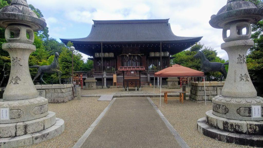 乃木神社参拝所