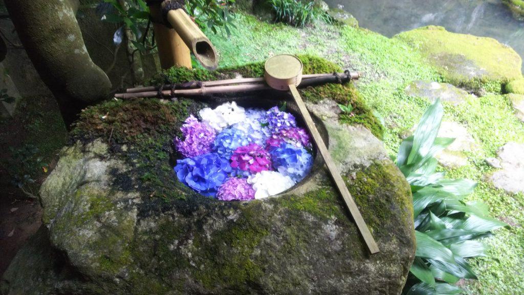 青の独鈷水
