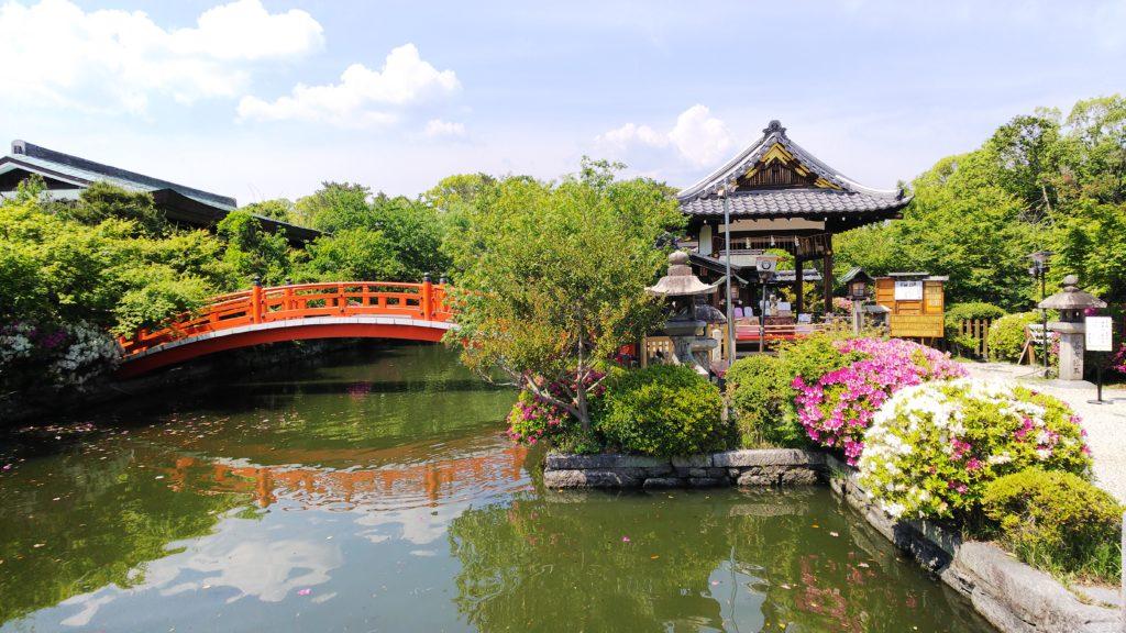 神泉苑の庭園