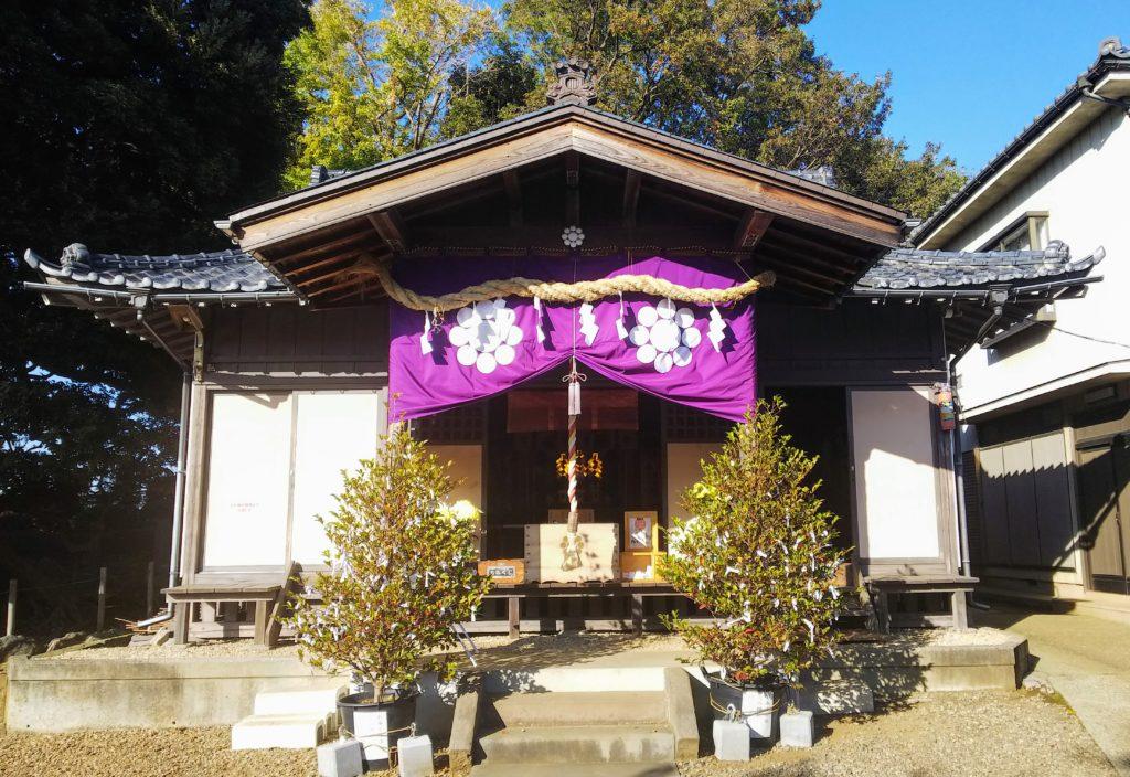九重神社参拝所