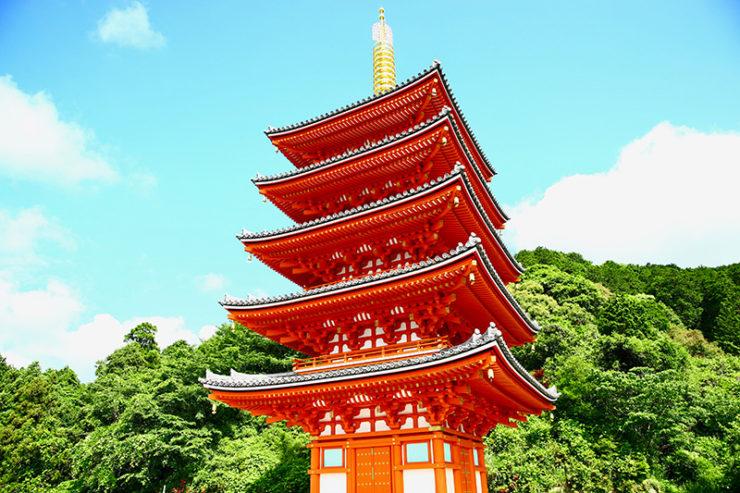本福寺五重の塔